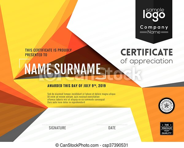Modern certificate background design template modern vectors modern certificate background design template vector yadclub Gallery