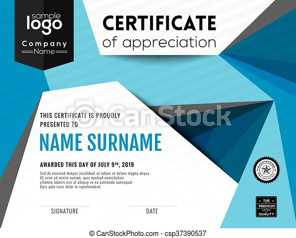 Modern certificate background design template modern vectors modern certificate background design template csp37390537 yadclub Gallery