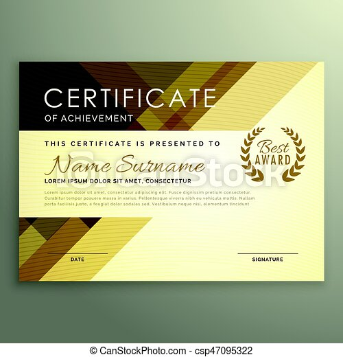 Modern certificate design in premium style modern certificate design in premium style csp47095322 altavistaventures Image collections