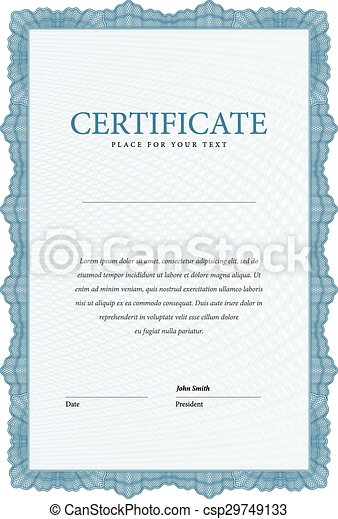 Modern certificate template diplom certificate award vectors modern certificate template diplom vector yadclub Images