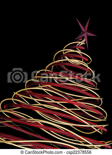 Modern Christmas Trees.Modern Christmas Tree