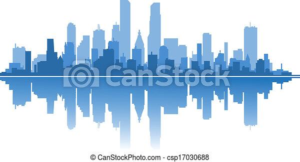 Modern city - csp17030688