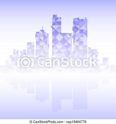 modern city - csp18464776