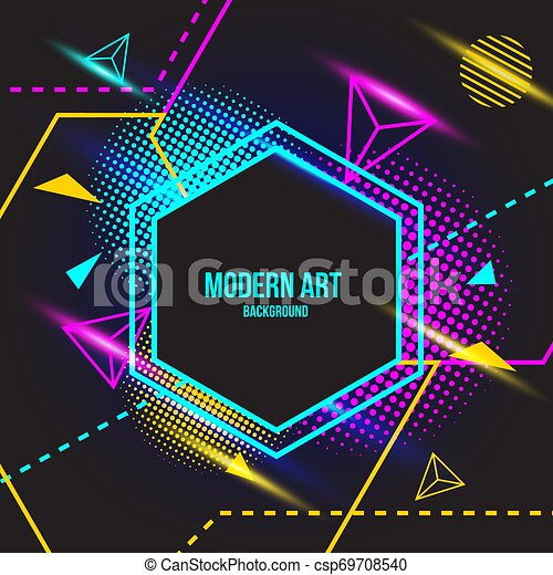 Modern color Art background - csp69708540