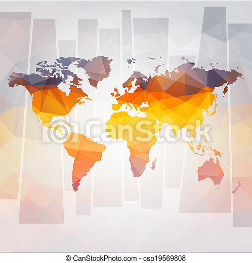 Modern concept of world map vector file vector clipart search modern concept of world map vector gumiabroncs Choice Image