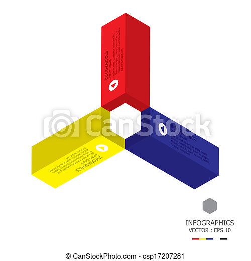 Modern Cube Template Vector  Search Clip Art Illustration