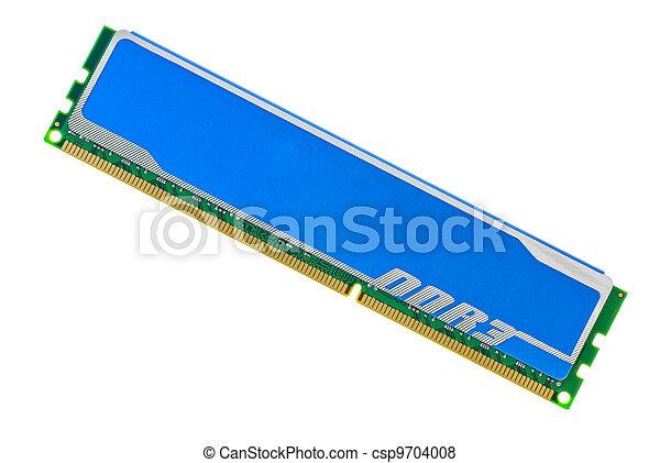 Modern DDR3 DIMM memory module - csp9704008