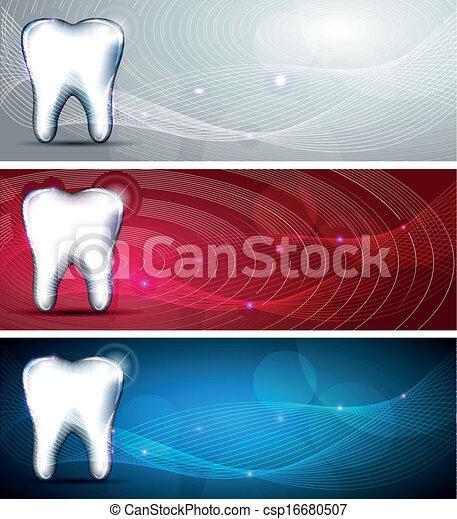 Modern dental designs - csp16680507