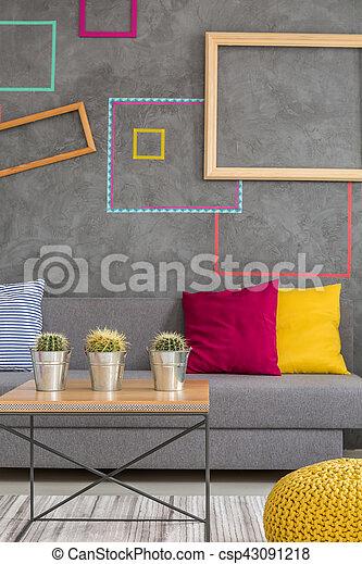 Modern design of lounge - csp43091218