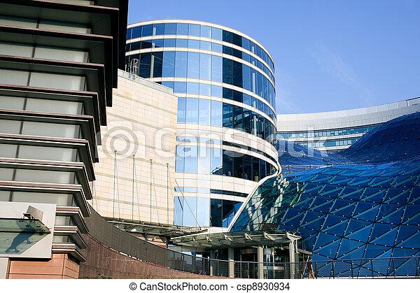 Modern Futuristic Buildings Contemporary Exterior