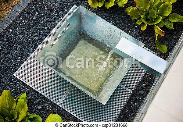 Modern Garden Design - csp31231668