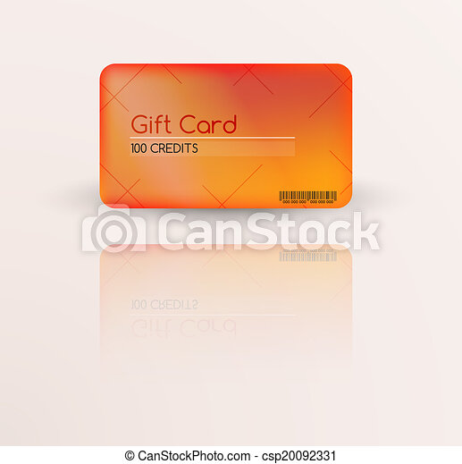 Modern Gift Card Template Vector With Reflection Vectors  Search