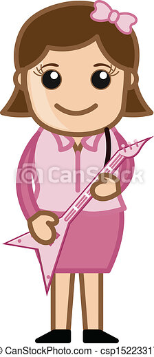 Rockstar Girl Stock Illustrations – 292 Rockstar Girl Stock Illustrations,  Vectors & Clipart - Dreamstime