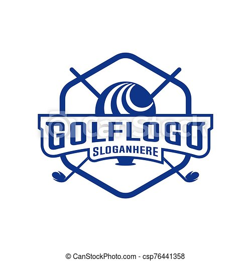 Modern Golf Badge Logo Vector Golf Club Logo Design Template Labels And Emblems