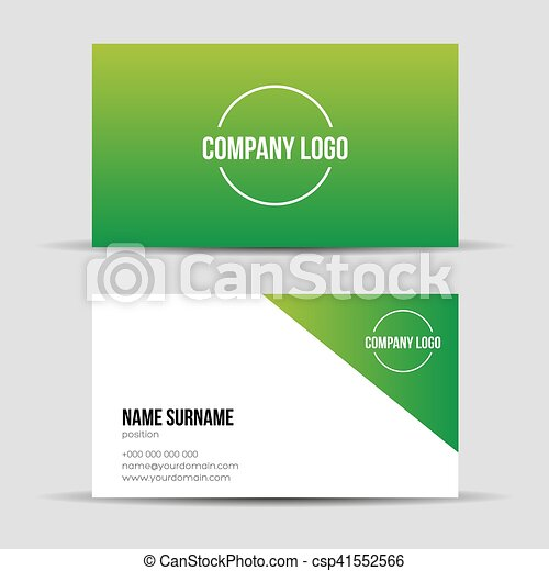 Modern green business card template modern green business card template csp41552566 friedricerecipe Images