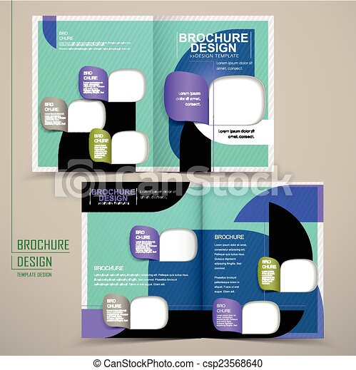 half fold brochure templates