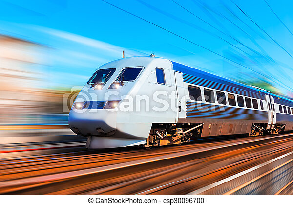 Modern high speed train - csp30096700