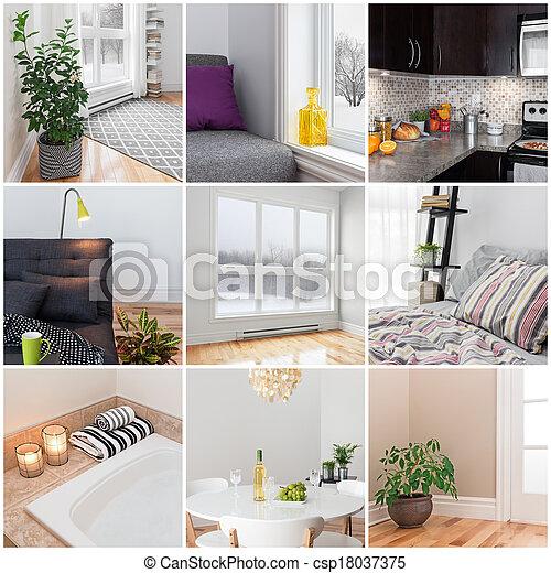 Modern home - csp18037375
