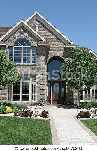 modern home - csp0076288