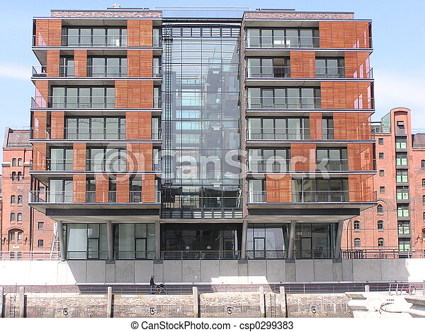 modern housing - csp0299383