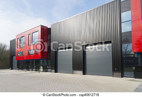modern industrial building - csp40612718