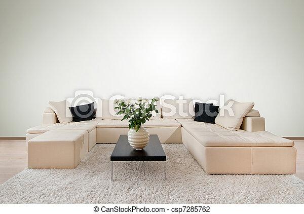 Modern interior - csp7285762