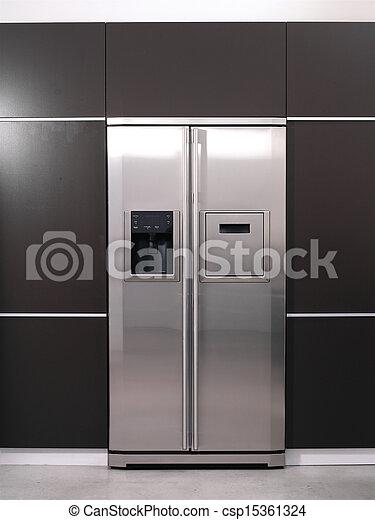 Modern, kühlschrank Stockfoto - Bilder und Foto-Clipart suchen ...