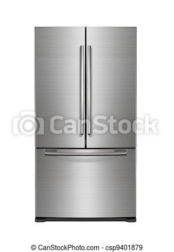 Modern, kühlschrank. Kühlschrank, weißes, modern,... Stockfotos ...