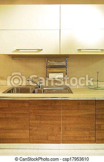 Modern kitchen - csp17953610