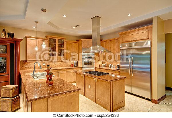 Modern Kitchen - csp5254338