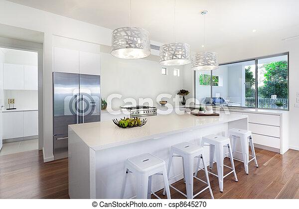 Modern kitchen - csp8645270