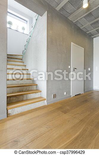 Modern Landhaus Korridor Geraumig Holzern