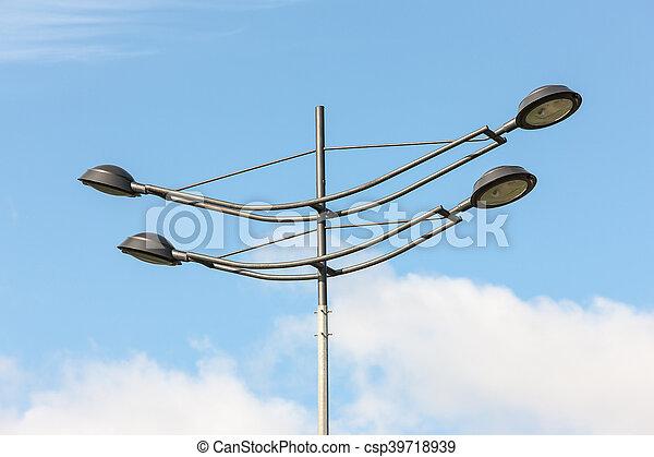 Modern lantern close up - csp39718939