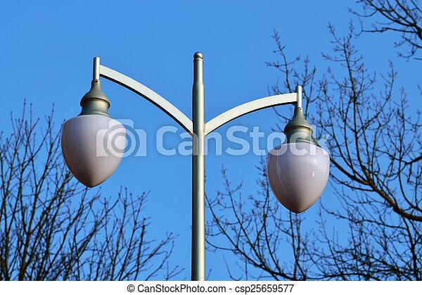Modern lantern in the Park - csp25659577