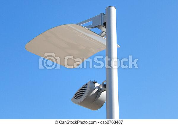 Modern lantern of street illumination - csp2763487