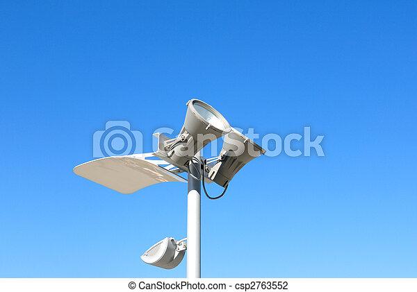 Modern lantern of street illumination - csp2763552