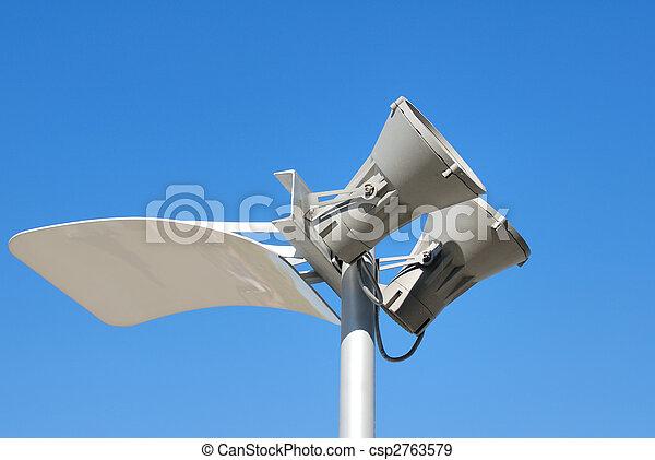 Modern lantern of street illumination - csp2763579