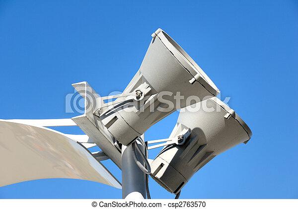 Modern lantern of street illumination - csp2763570