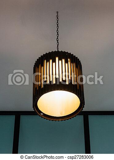 Modern lantern - csp27283006
