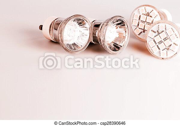 Modern LED bulbs - csp28390646