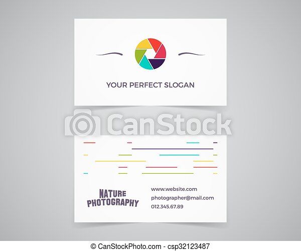 Modern light business card template for photography studio modern light business card template for photography studio photograpgers unusual design corporate reheart Image collections