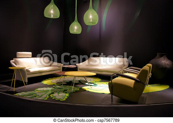 modern living room - csp7567789