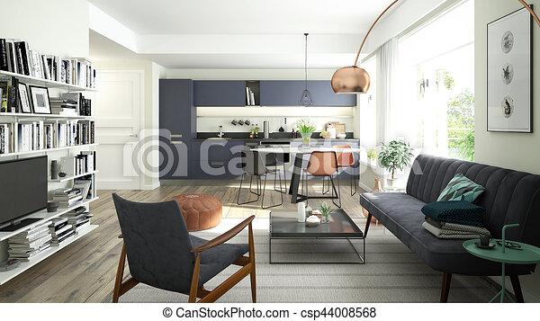 Vector Stock - Interior design 1960. mid century modern furniture. mood  board.… in 2020   Mid century modern colors, Mid century modern furniture,  Modern living room colors