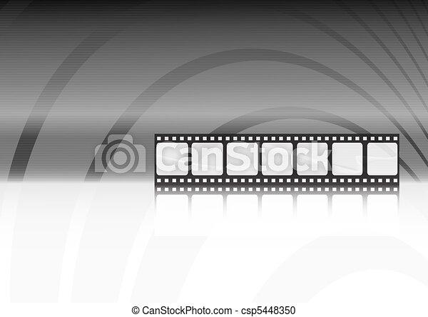 Modern Movie Vector Background