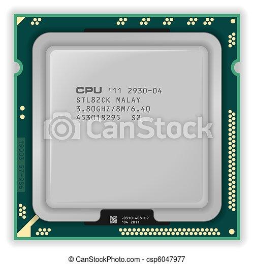 Modern multicore CPU - csp6047977