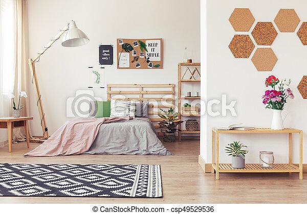 Modern nature-inspired home decor - csp49529536
