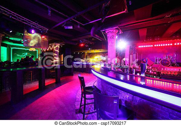 modern night club in european style - csp17093217