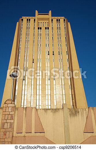 Modern Office Building Facade in Bamako - csp9206514