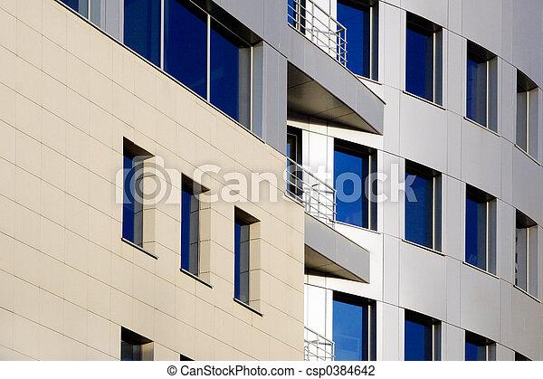 Modern office buildings 2 - csp0384642