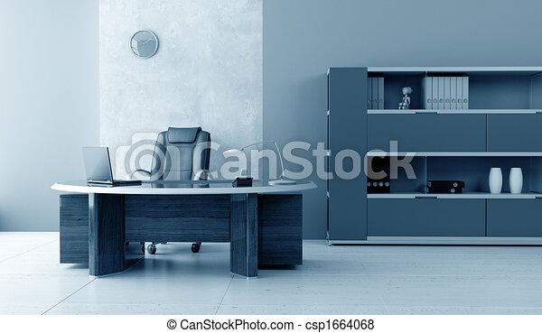 modern office interior - csp1664068